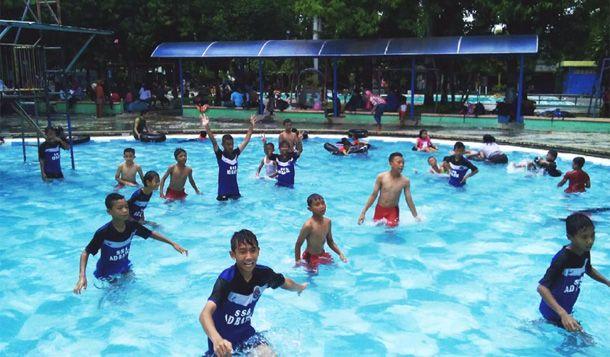 Kolam Renang Kartika Soloraya Wisata Kab Sragen