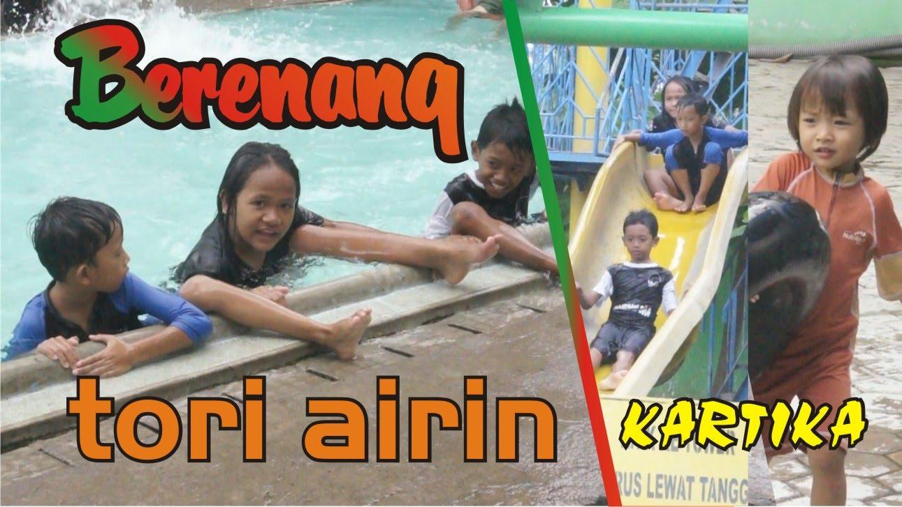 Renang Anak Swimming Pool Kolam Kartika Sragen Tori Airin Youtube