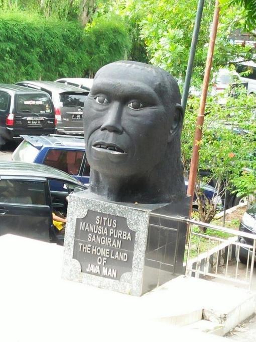 Liburan Sekolah Wisatawan Museum Manusia Purba Sangiran Sragen Membeludak Wisata