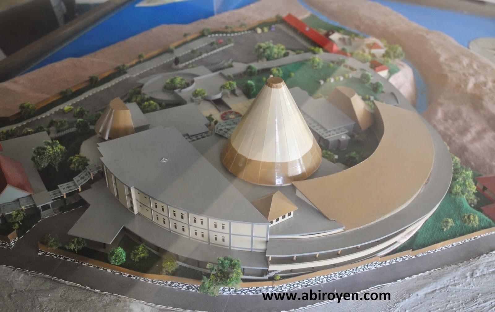 Museum Purbakala Sangiran Sragen Akses Masuk Keunikannya Maket 2bsangiran Jalan