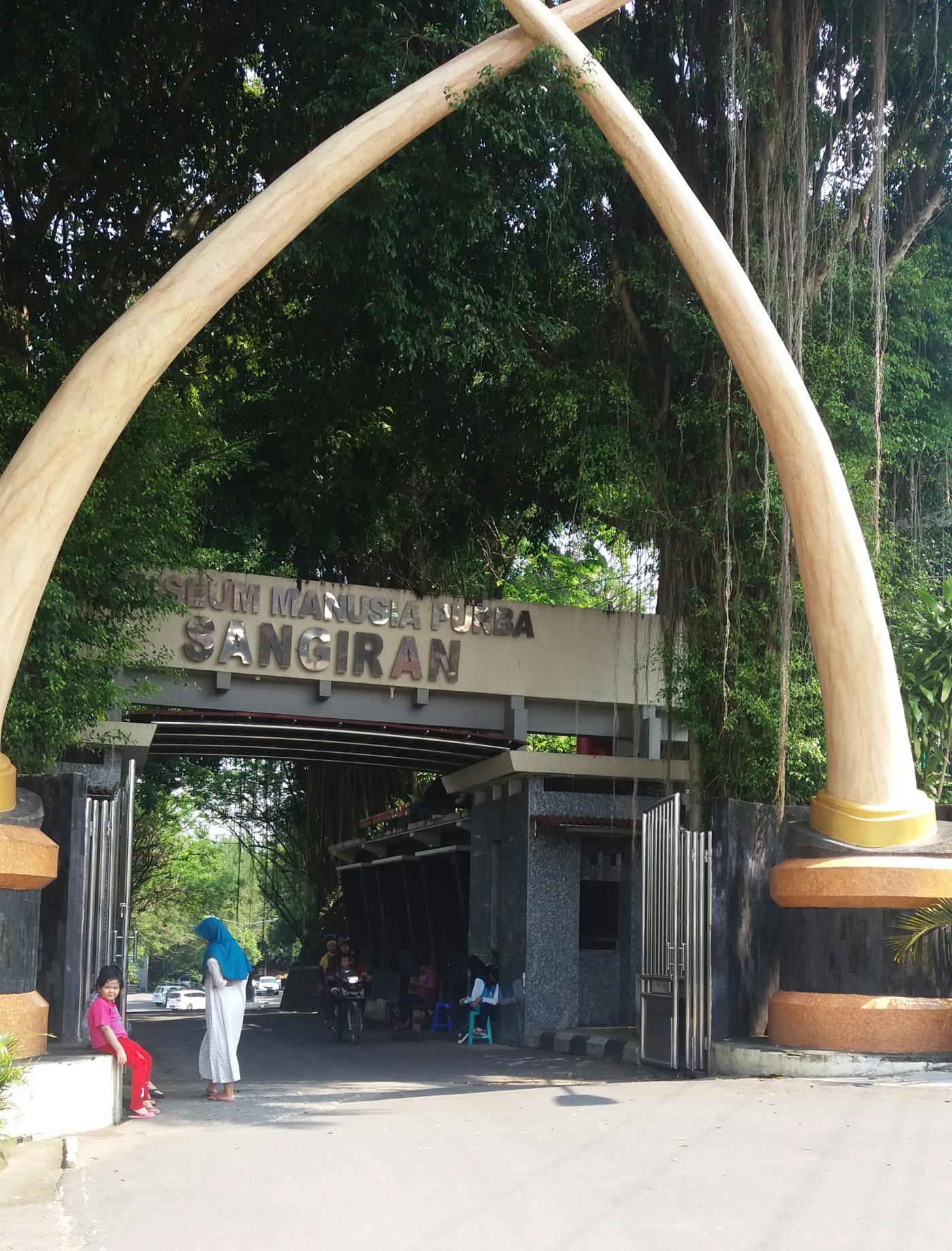 Musium Purbakala Sangiran Achlegowo Wisata Museum Prasejarah Kab Sragen