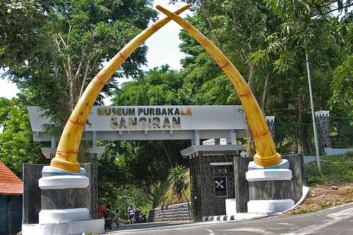 Objek Wisata Museum Purbakala Sangiran Jawa Tengah Musem Salah Satu