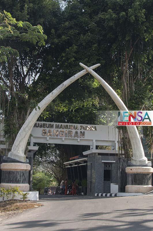 Pintu Masuk Museum Purbakala Sangiran Sragen Jawa Tengah Lensawisata Wisata