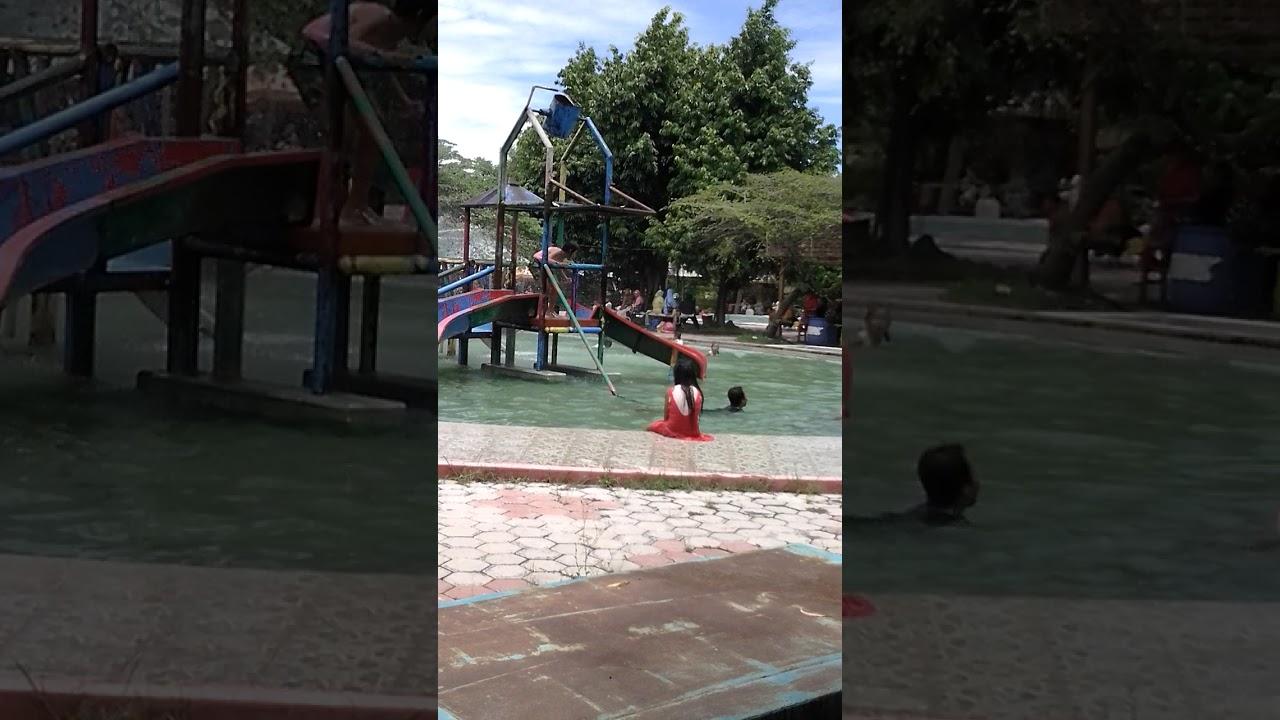 Bermain Air Kolam Renang Ndayu Park Sragen Youtube Wisata Taman