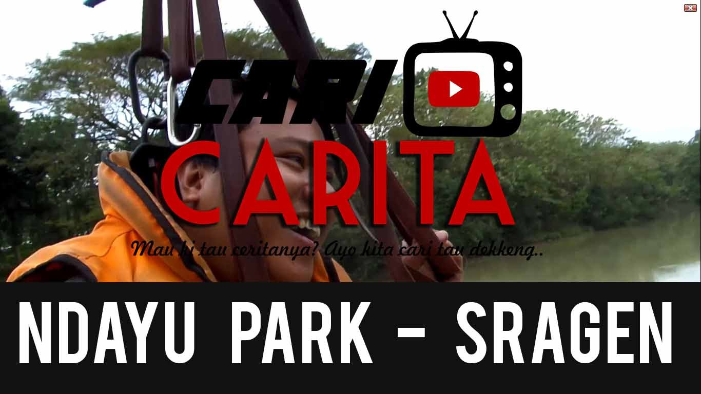 Family Trip Mak Crit Plekenthure Jalan Ndayu Park Sragen Wisata