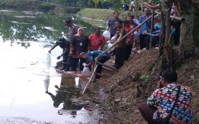 Desa Mengembangkan Potensi Menjadi Wisata Taman Sukowati Kab Sragen