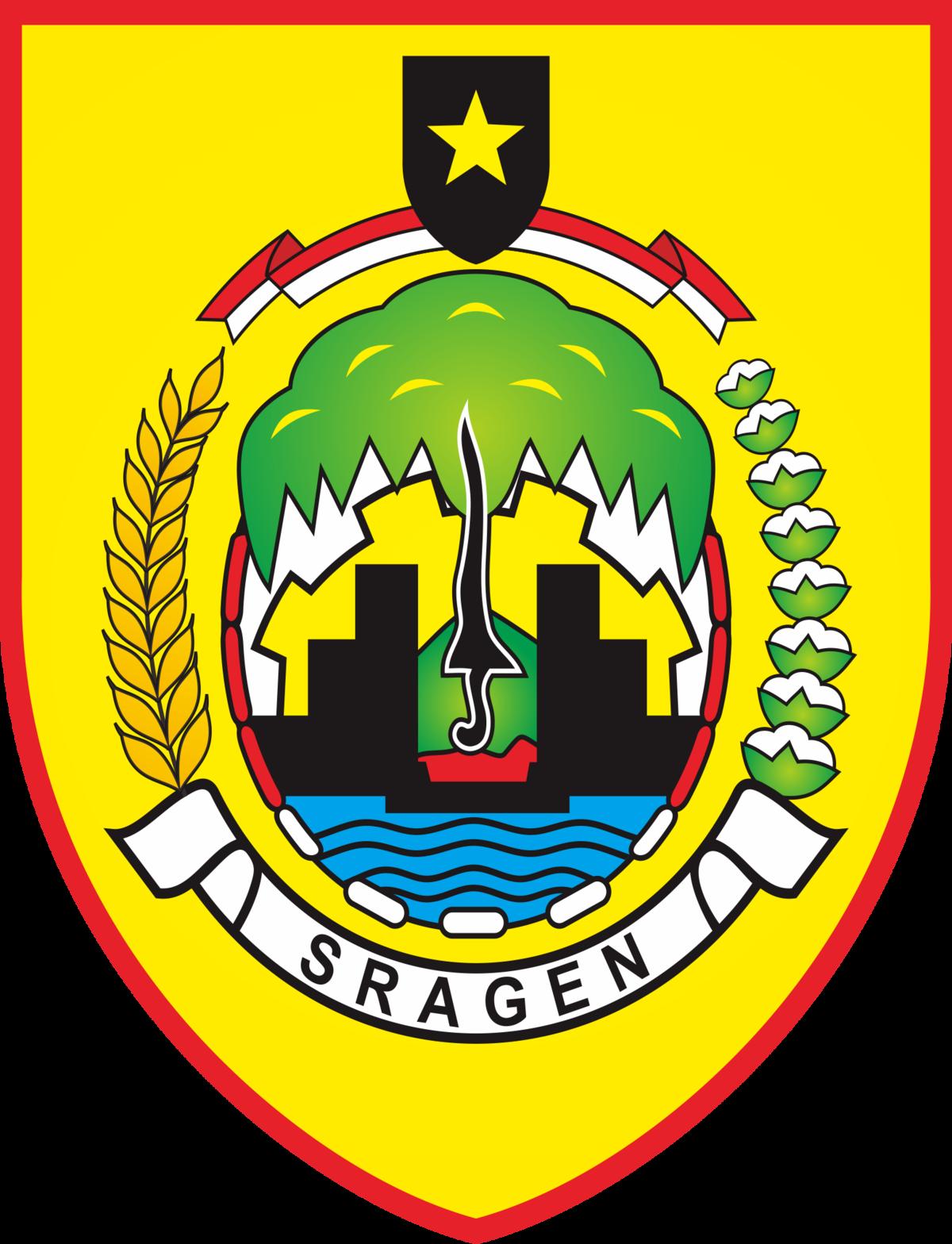Kabupaten Sragen Wikipedia Bahasa Indonesia Ensiklopedia Bebas Wisata Taman Sukowati