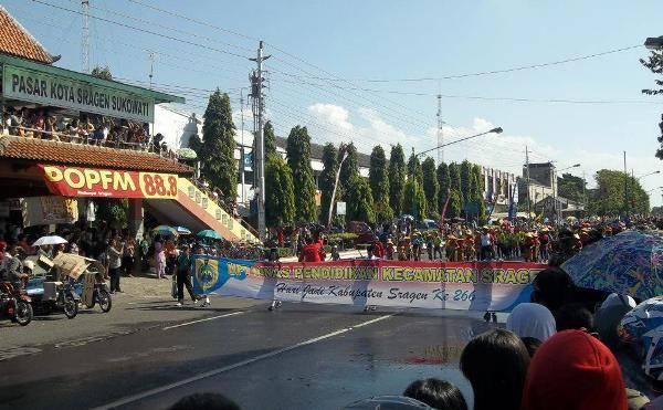 Kirab Budaya Jadi Potensi Wisata Sragen Omprap Rombongan Taman Sukowati
