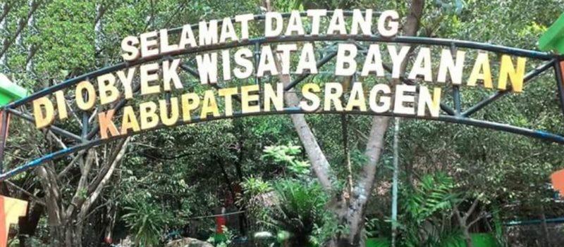 Mengenal Obyek Wisata Bayanan Sragen Eksotisme Belerang Bumi Sukowati Wartasolo