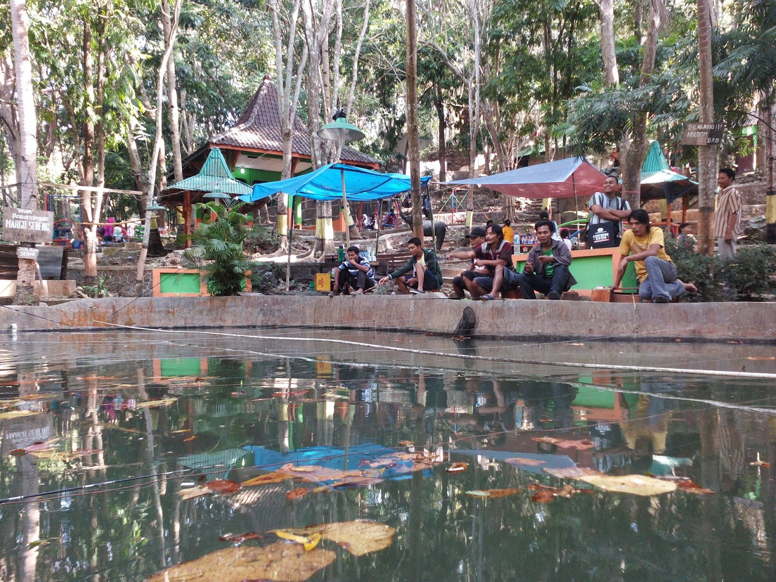 Menikmati Indahnya Wisata Sragen Tempat Indonesia Taman Sukowati Kab