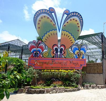 Pesona Keindahan Wisata Kemenuh Butterfly Park Sukawati Gianyar Bali Taman