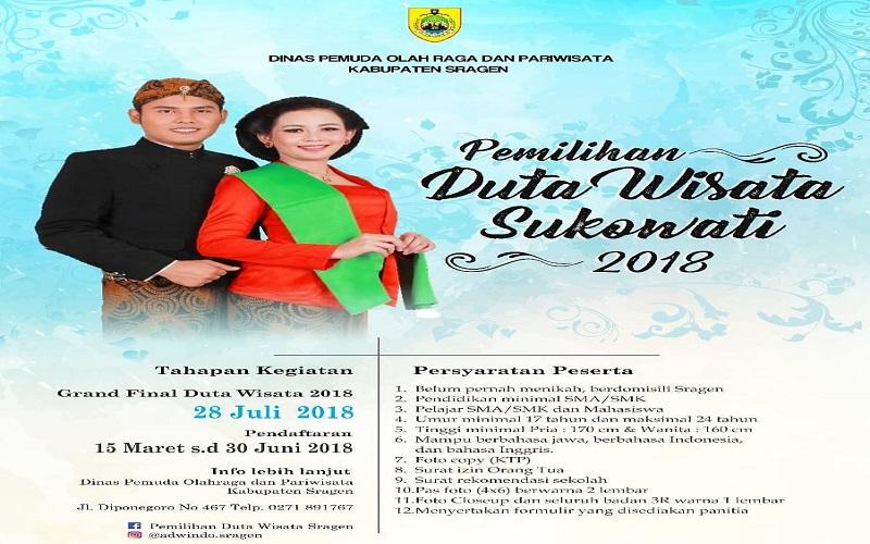 Ragam Budaya Pariwisata Jawa Tengah Dinas Kebudayaan Pemilihan Duta Wisata
