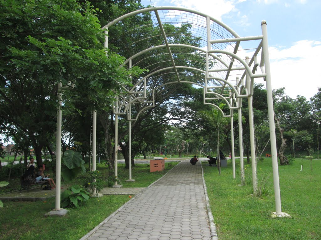 Sragen Taman Bunga Ganesha Sukowati Wiforgo Indonesia Wisata Sine Jawa