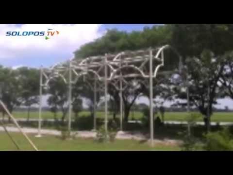 Taman Bunga Ganesha Ruang Publik Wong Sragen Youtube Wisata Sukowati