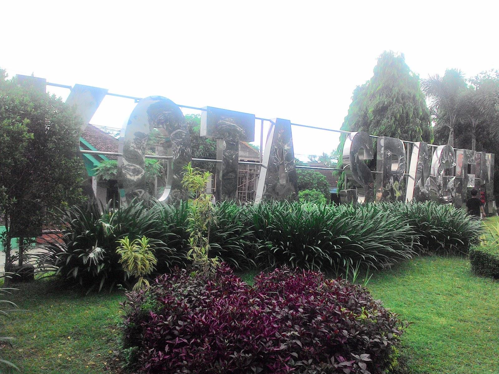 Taman Selamat Datang Kota Sragen Cocok Selfi Bersantai Ria Wisata