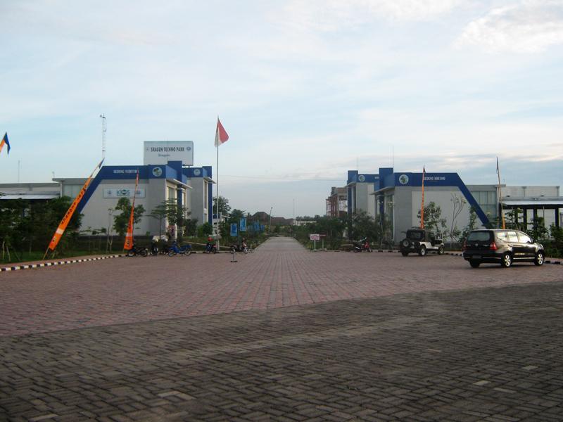 Technopark Ganesha Sukowati Sragen Hotel Indonesia Hdg Team Wisata Taman