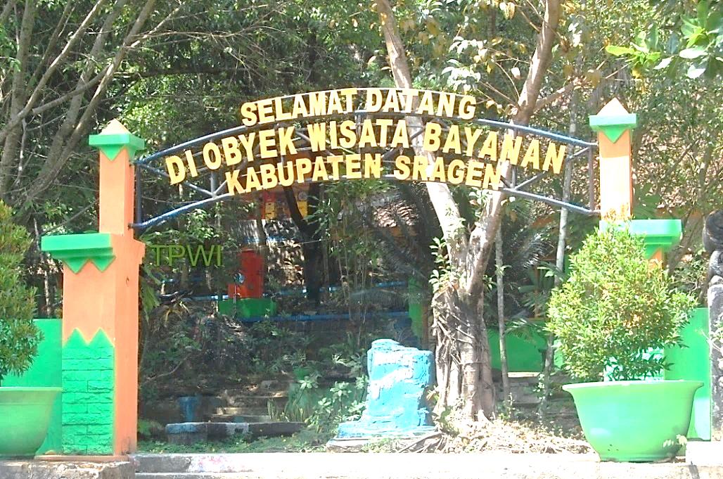 Wisata Air Panas Bayanan Taman Sukowati Kab Sragen