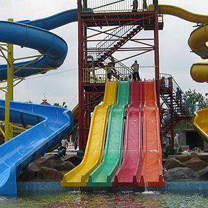 Water Slides Playground Equipment Aliya Jaya Fiber Spiral Alaska Waterboom