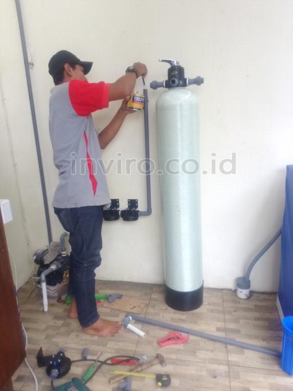 Pemasangan Filter Penjernih Air Sumur Perumahan Griya Pratama Sukoharjo Inviro