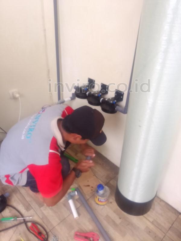Pemasangan Filter Penjernih Air Sumur Perumahan Griya Pratama Sukoharjo Kora