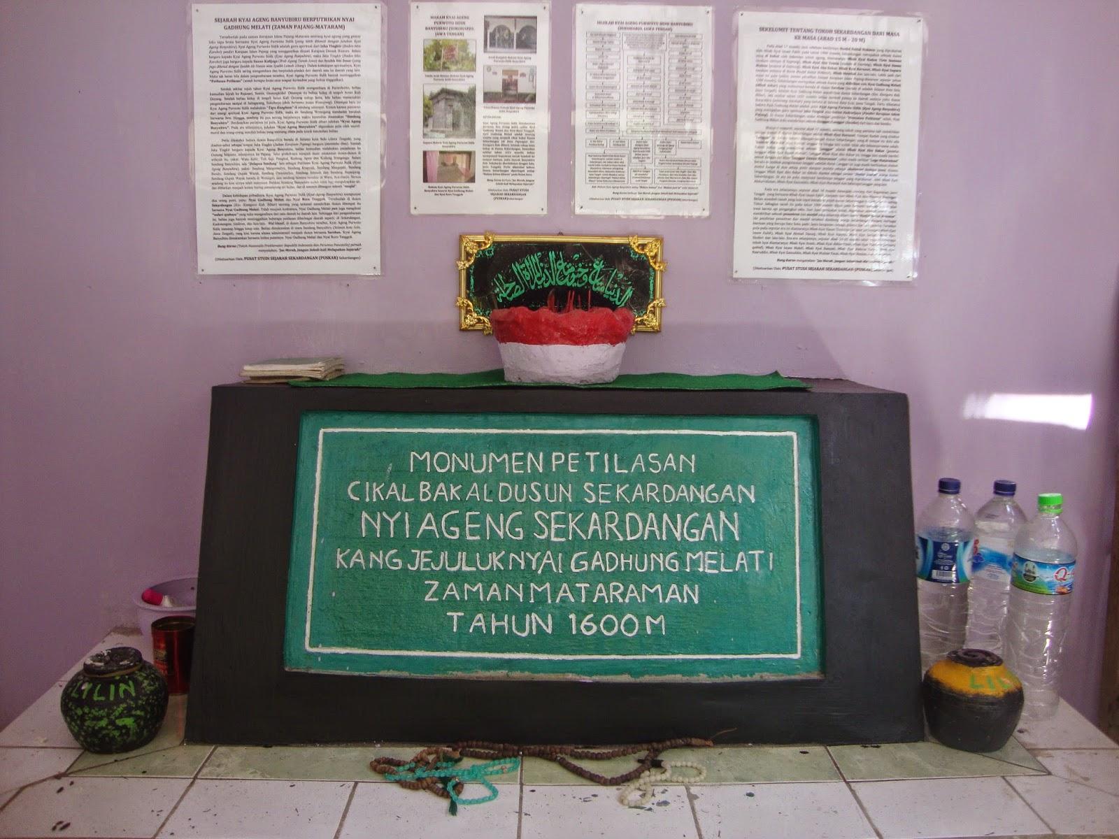 Pustaka Agung Sunan Tembayat Silsilah Kyai Ageng Purwoto Sidik Monumen