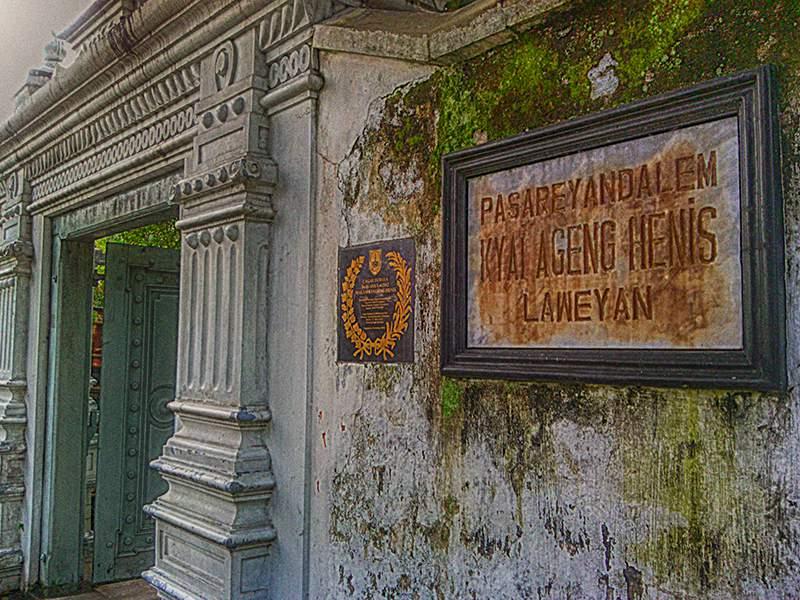 Daftar Makam Tempat Ziarah Wisata Religi Surakarta Gudang Ki Ageng