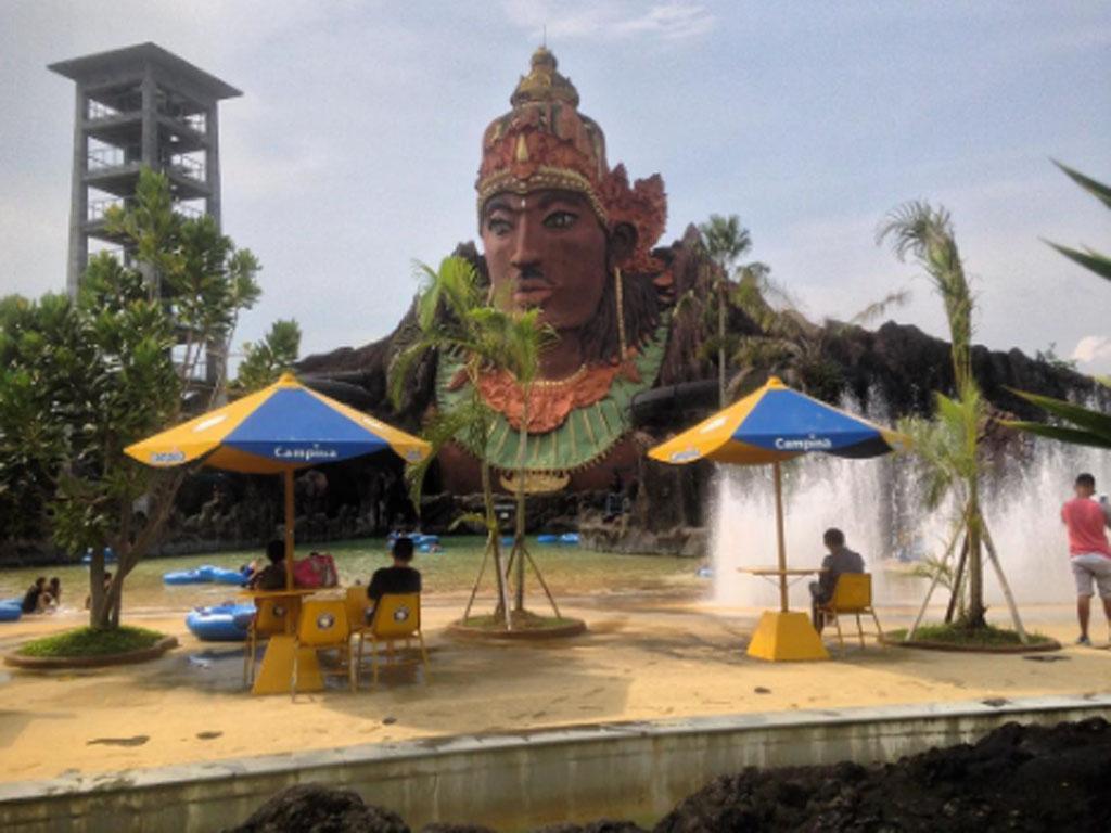 Harga Tiket Masuk Pandawa Water World Solo 2018 Wahana Wisata