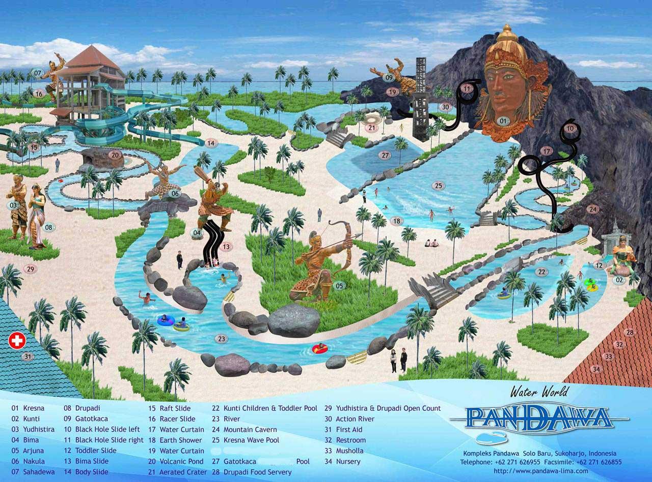 Hotels Pandawa Water World Solo Klikhotel Kab Sukoharjo