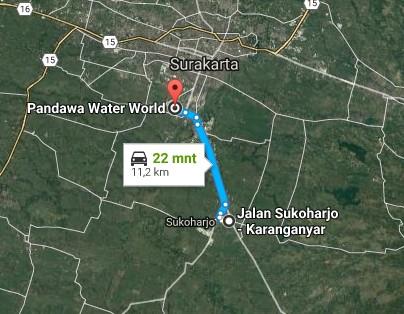 Keindahan Destinasi Wisata Pandawa Water World Grogol Sukoharjo Demikianlah Sedikit