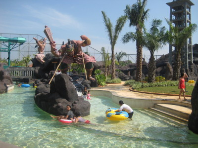 Pandawa Selokan Oktaviasaraswati Water World Kab Sukoharjo