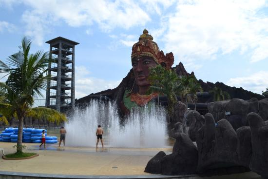 Pandawa Water World Picture Solo Tripadvisor Wave Fountain Pool Kab