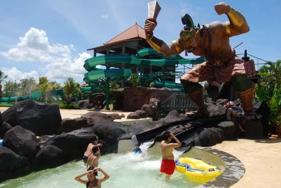 Pandawa Water World Solo Media Surakarta Sebuah Wahana Wisata Air