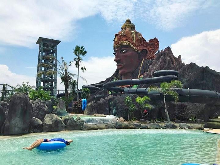 Pandawa Water World Wisata Air Populer Kota Solo Informasi Kab