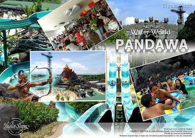 Pandawa Waterworld Solo Water World Wahana Wisata Air Terletak Perbatasan