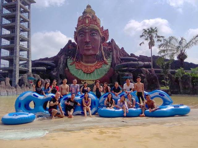 Perlustalking Wisata Sukoharjo Foto Pandawa Water World Kab