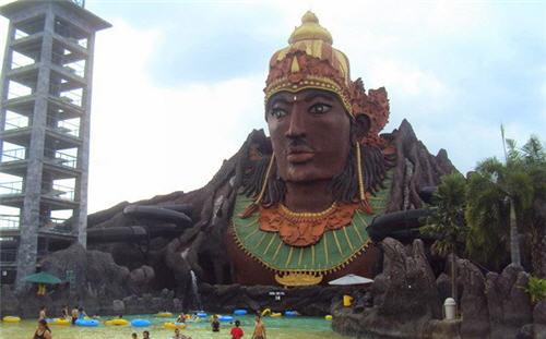 Wisata Air Pandawa Water World Solo Keren Tempat Kab Sukoharjo