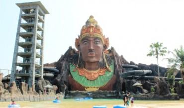 Wisata Soloraya Pandawa Water World Tawarkan Lebaran 2015 Kolam Renang