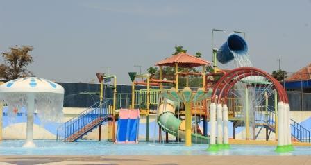 Wisata Soloraya Pandawa Water World Tawarkan Lebaran 2015 Playgound Objek