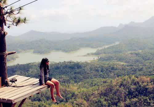 Februari 2016 Rizkypurnama23 Hutan Wisata Kalibiru Sebuah Alam Terdapat Perbukitan