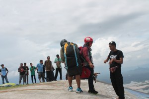 Paralayang Bumdes Sendang Wonogiri Objek Wisata Puncak Joglo Desa Kecamatan