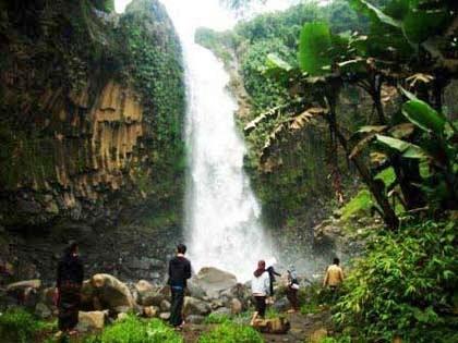 Tempat Wisata Tegal Sragen Sukoharjo Terbaik Curug Putri Kabupaten Sendang