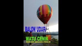 Watu Cenik Review Balon Udara Bumdes Sendang Pinilih Kab Sukoharjo