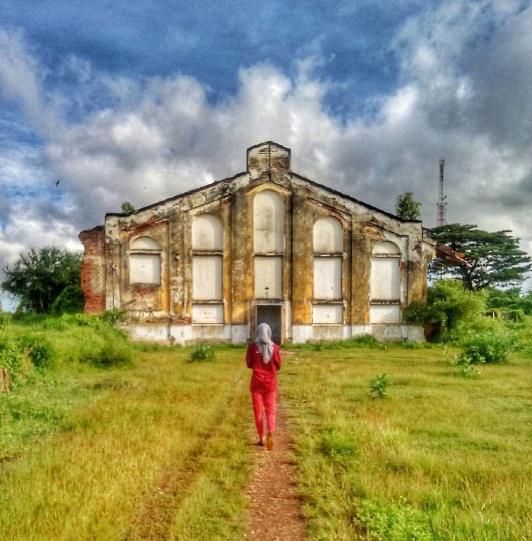 Berkunjung Kota Tua Benteng Voc Kalianget Wisata Sumenep Peninggalan Belanda