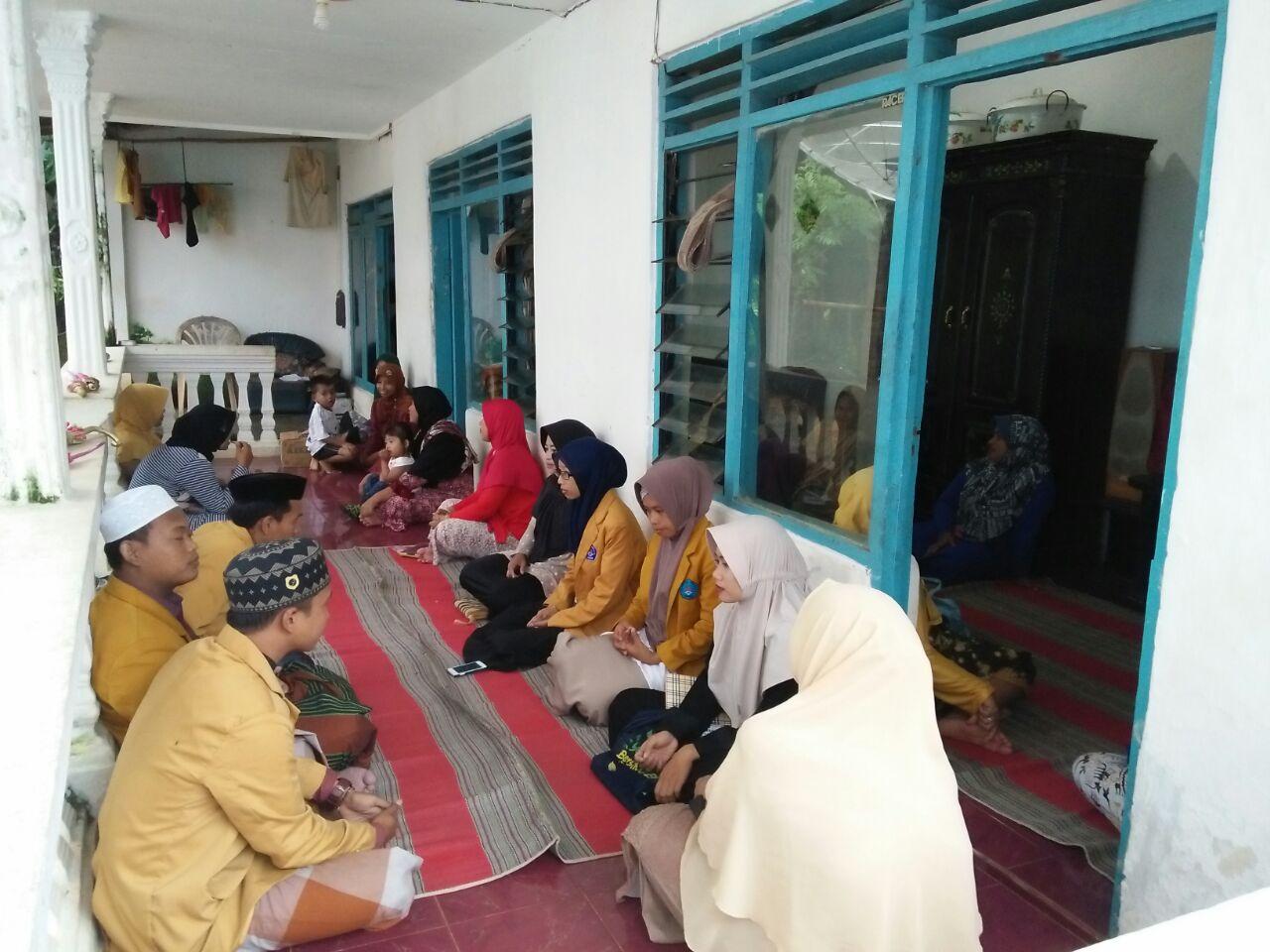 Desa Pasongsongan Februari 2017 Sebelum Masuk Acara Kultum Koperdasi Wanita
