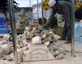 Makam Keturunan Raja Sumenep Meledak Geger Asta Tinggi Kab
