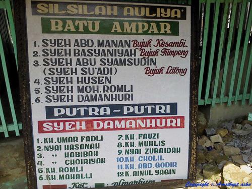 Wisata Religi Ujung Pulau Garam Amethyst Aiko Pesarean Sayyid Yusuf
