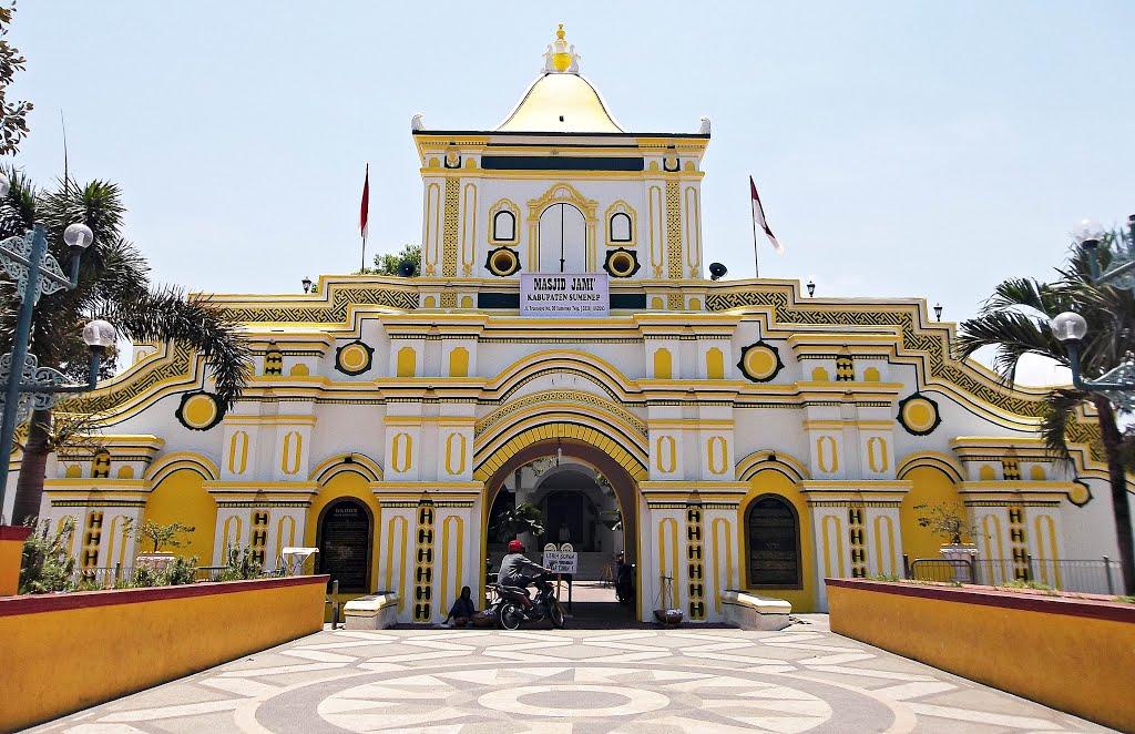 3 Tempat Wisata Religi Sumenep Madura Ramai Blogekstra Masjid Agung