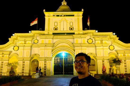 Interior Masjid Picture Great Mosque Sumenep Cak Jumhur Selfie Agung