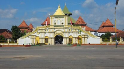 Masjid Agung Sumenep Arsitektur Peradaban Bangsa Dunia Lontar Madura Kab