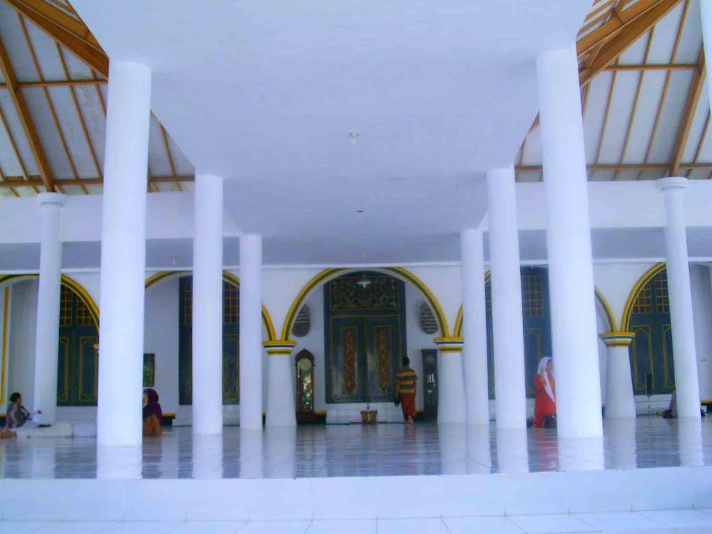Perluasan Masjid Agung Sumenep Bagian Depan Merubah Utama Kab